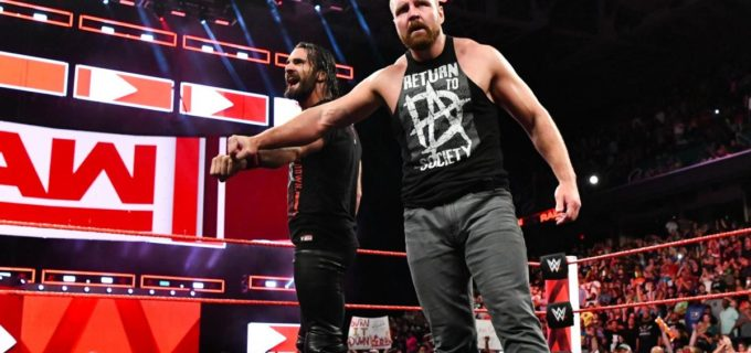 【WWE】アンブローズがロウ電撃復帰!