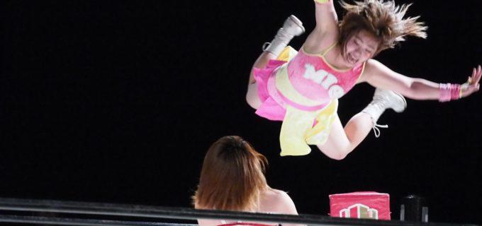 【仙女】<試合結果>8.23(木)名古屋大会 桃野美桜が岩田美香から完全勝利!