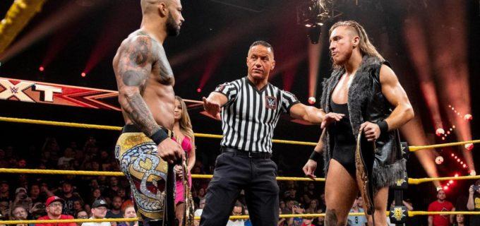 【WWE】リコシェ、NXT初の王者同士の対決は反則裁定