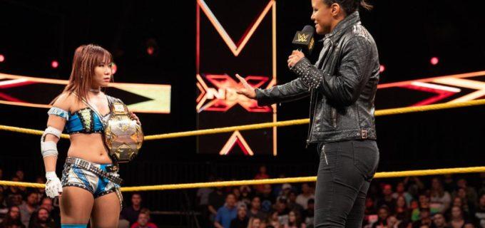 【WWE】王者カイリ、「エボリューション」でシェイナと王座戦リマッチが決定