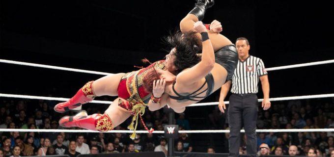 【WWE】デスバレー・ボムで激勝した里村明衣子が「メイ・ヤング・クラシック 2018」トーナメント2回戦進出!