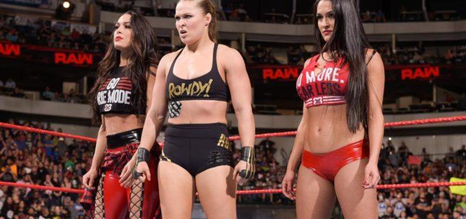 【WWE】ロンダ、ベラ・ツインズと盟友ナタリヤの仇討ち