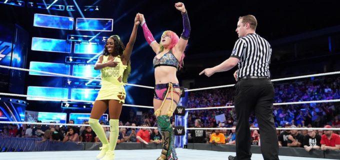 【WWE】勝利のアスカ、PPV「スーパー・ショーダウン」でナオミとタッグ戦