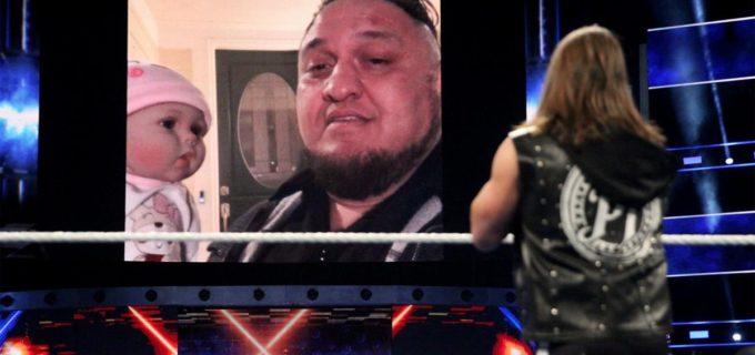 【WWE】AJスタイルズが狼狽!サモア・ジョーが恐怖の自宅襲撃