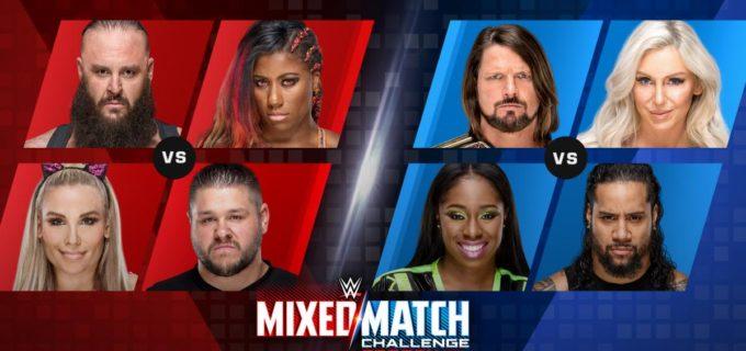 【WWE】「ミックス・マッチ・チャレンジシーズン2」スタート
