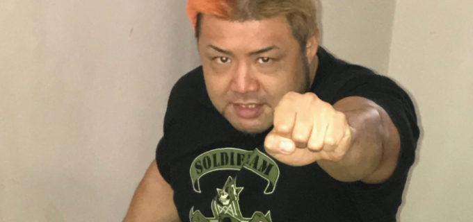 【W-1】9.29(土)大阪大会でタイトル挑戦の征矢学「芦野をねじ伏せて、あいつ自身の手でマットを叩かせたい」芦野からのギブアップ奪取を宣言!