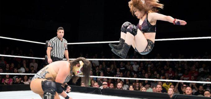 【WWE】紫雷イオが覆面ルチャドーラ、セウシスを撃破 メイ・ヤング・クラシック準々決勝進出
