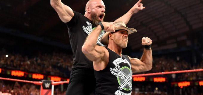 【WWE】DX復活!「クラウン・ジュエル」で破壊兄弟との対戦決定!!