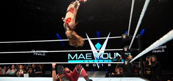 【WWE】「優勝するぞ!」イオがムーンサルトでベスト4進出
