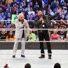 【WWE】放送1000回記念大会「スマックダウン1000」に伝説のユニット、エボリューションのトリプルH、バティスタ、ランディー・オートン、リック・フレアーの4メンバーが再集結!