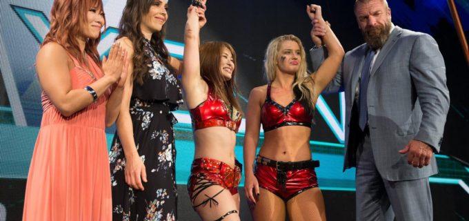 【WWE】「おっしゃ!私が絶対世界一になる」紫雷イオがメイ・ヤング・クラシック準決勝Vでトニー・ストームと決勝戦