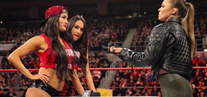 【WWE】調印式に登場したロンダ「あんたを終わらせる」因縁のニッキーに約束