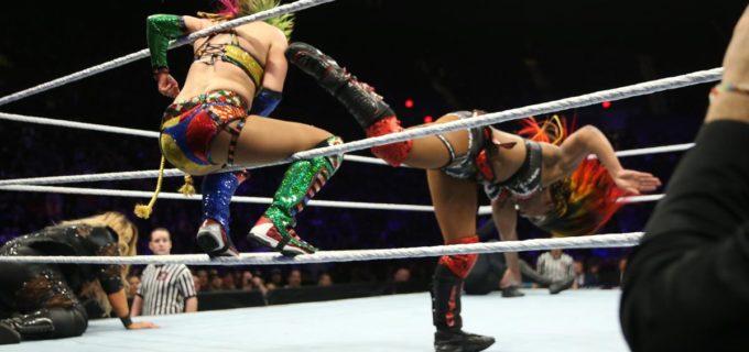 【WWE】アスカ、旧ライバルのエンバーに排除されてバトルロイヤル優勝逃す