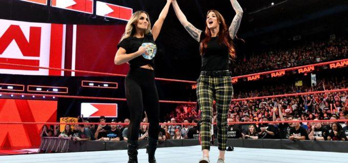 【WWE】トリッシュとリタがPPV「エボリューション」で夢のタッグを結成