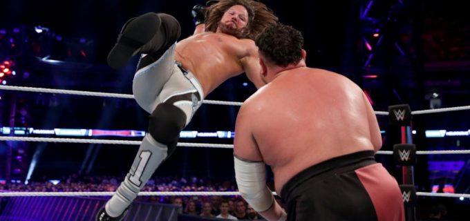 【WWE】王座防衛のAJスタイルズ、PPV「クラウン・ジュエル」で王座挑戦権を獲得のブライアンとの王座戦決定
