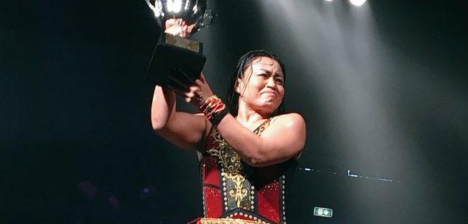 【仙女】里村明衣子がドイツメジャー団体wXwに参戦!『女子プロレス1dayトーナメント』にて優勝!