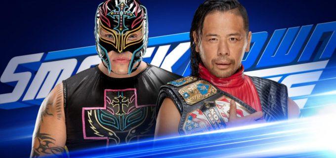 【WWE】「スマックダウン1000」で中邑対ミステリオ!さらにアンダーテイカー、エボリューションも登場