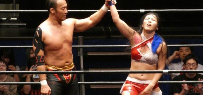 志田光10周年記念自主興行「REvenge」!丸藤に敗戦も好勝負に「いいものを持っているというのは確信できた」と丸藤絶賛!