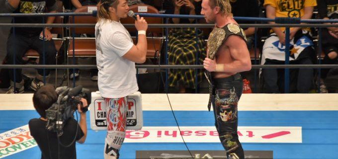 【新日本】IWGP3WAY戦は飯伏・コーディを制してケニーが王座防衛に成功! 試合後、棚橋が登場し「賞味期限切れだ」と挑発!!