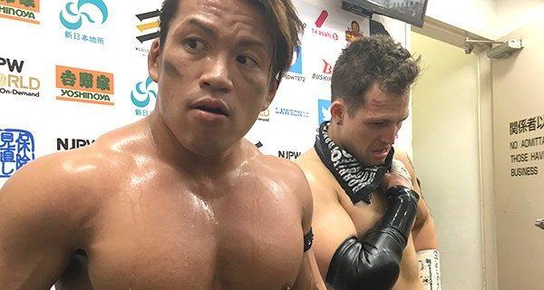 【新日本】石森太二「タッグマッチとはいえ、IWGPジュニアヘビー級王者のKUSHIDAから俺がピンフォール取った。この意味、おまえら、わかってんだろうな? おまえら、よ〜く考えろ」10.27後楽園大会