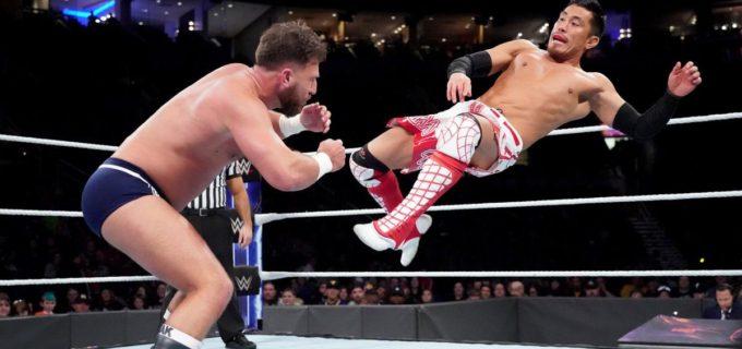 【WWE】戸澤、ケンドリックとの仲間割れでタッグ戦敗退