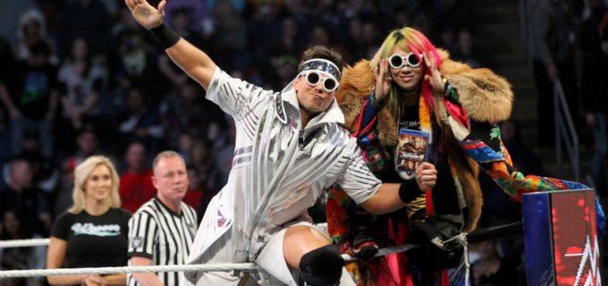 【WWE】ミズ&アスカ、無念のタップアウトで連勝ストップ