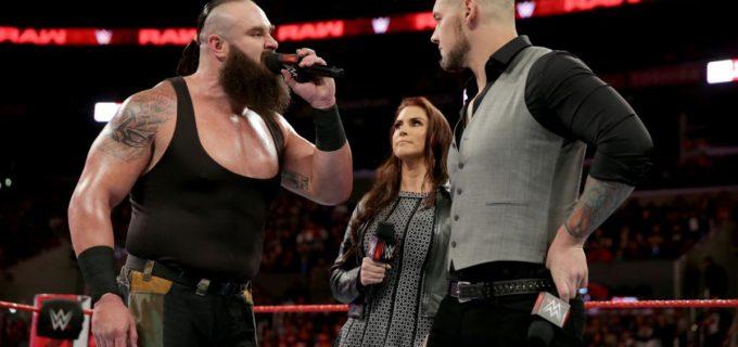 【WWE】対戦決定のコービンがストローマンの肘破壊