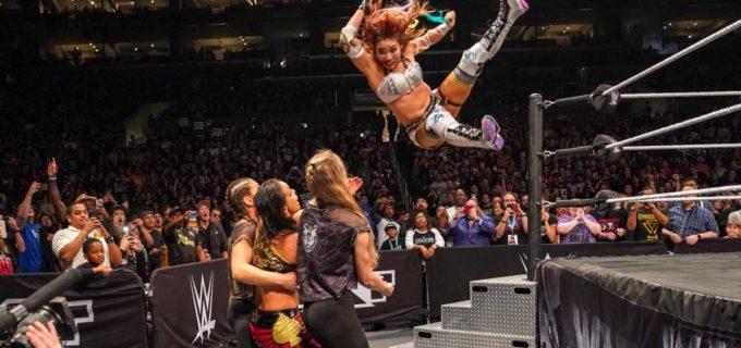 【WWE】カイリ・セイン、紫雷イオが救援もNXT女子王座の奪還逃す