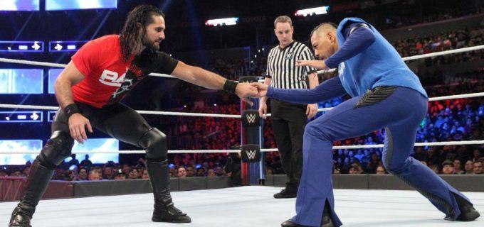 【WWE】中邑、ロリンズとの王者同士の初対決に惜敗