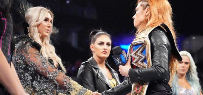 【WWE】負傷欠場のベッキー、ロンダ戦にシャーロットを指名