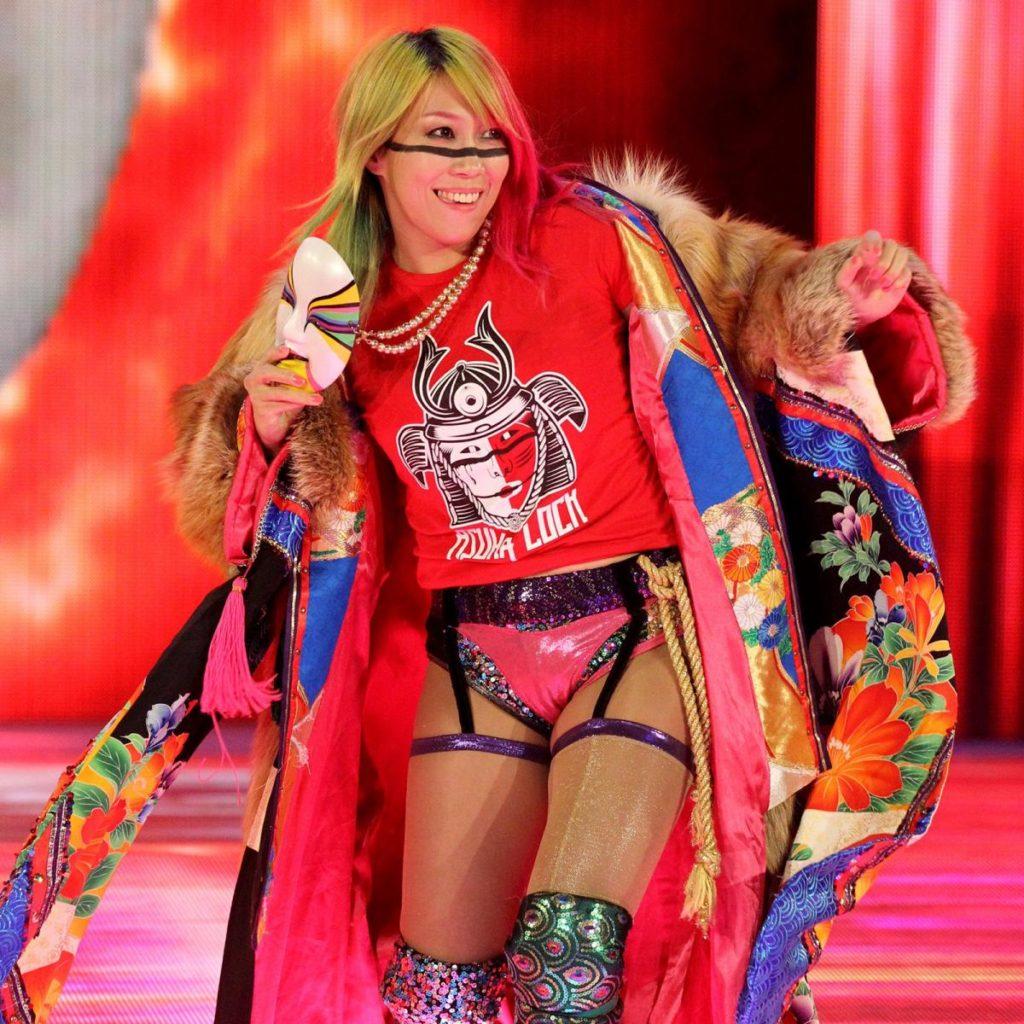 【WWE】アスカが女子5対5エリミネーション戦のメンバー入り