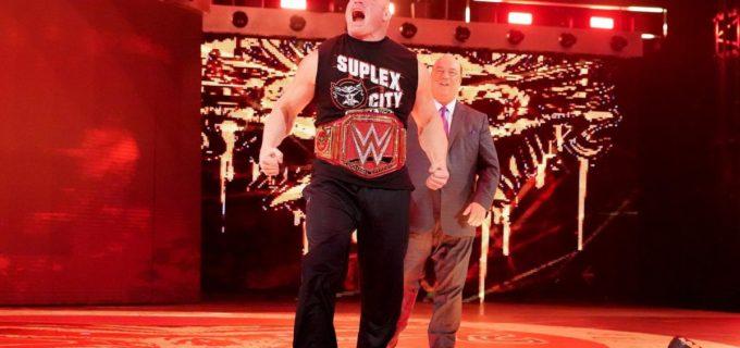 【WWE】「チャンピオンの中のチャンピオンになる」レスナーが王者対決に勝利宣言