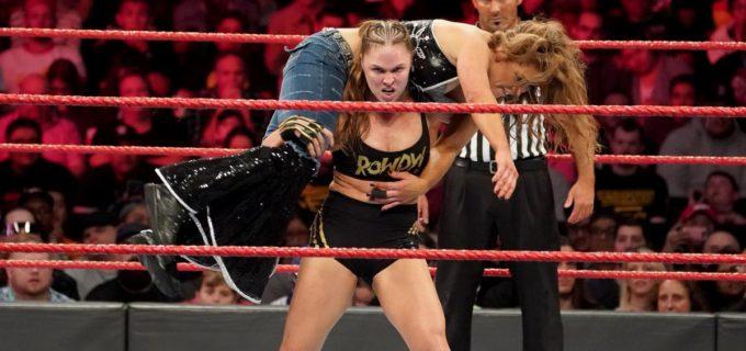 【WWE】「本当のチャンピオンは対戦相手を選ばない」満身創痍のロンダが王座防衛