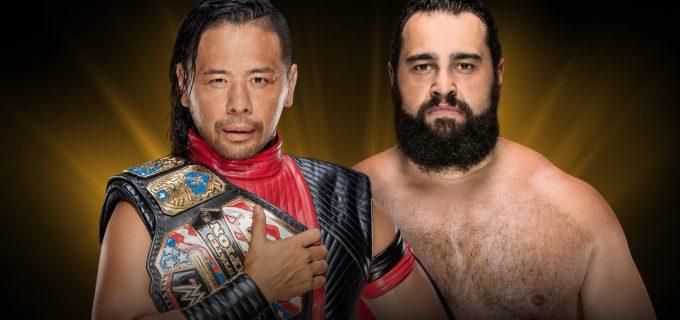 【WWE】中邑真輔のUS王座戦が「クラウン・ジュエル」キックオフショーで急遽決定