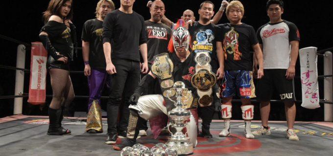 【ZERO1】天下一ジュニアSUGIが初優勝!試合後『RATEL'S』がZERO1ジュニアに宣戦布告! SUGI「やるならとことんやりましょう!」