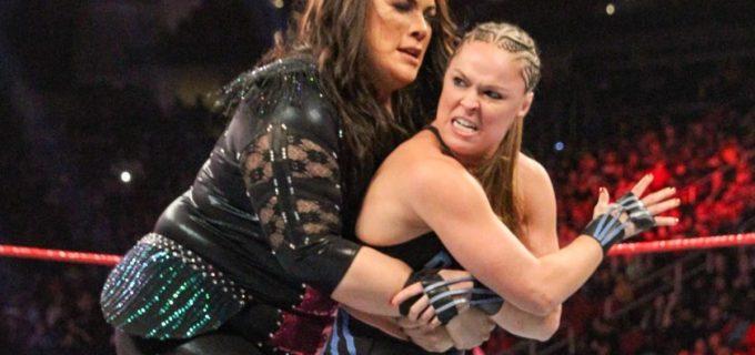 【WWE】ロンダ・ラウジー、波乱のタッグ前哨戦で勝利