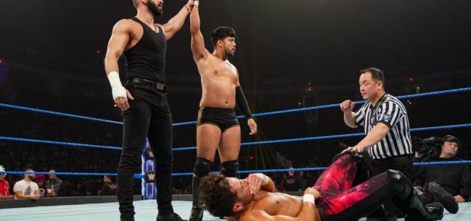 【WWE】ヒデオ、新パートナー・デバリ引き連れノームに快勝