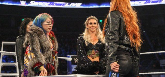 【WWE】TLC三つ巴戦に向けてアスカ、シャーロット、ベッキーの因縁激化