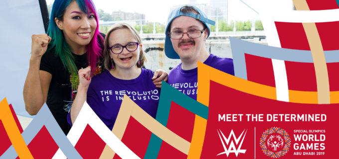【WWE】「2019年スペシャルオリンピックス世界大会」とのパートナーシップを締結