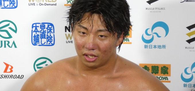 【新日本】金光が約2年振りにケガから復帰!「生きててよかった」