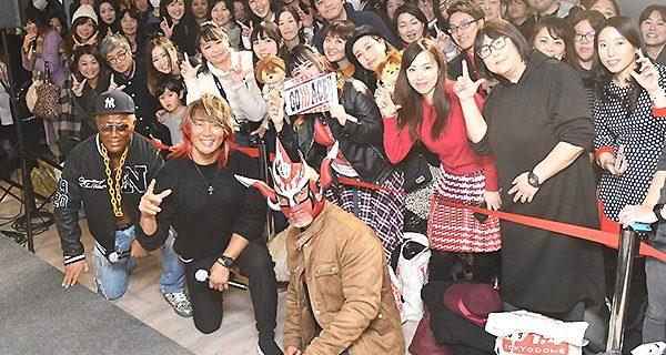 """【新日本】「""""ケニーの土俵""""で闘います!」渋谷マルイの大晦日イベントで棚橋が注目発言!本間&ライガーも登場で会場は大盛り上がり!!"""