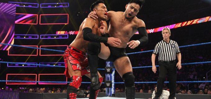 【WWE】ヒデオ・イタミvs戸澤陽の日本人対決が実現!ヒデオが敗戦と裏切りのダブルパンチに見舞われる