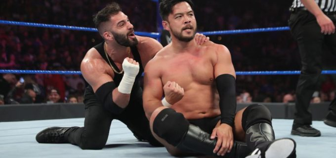 【WWE】ヒデオ、PPV「ロイヤルランブル」のフェイタル4ウェイクルーザー級王座挑戦権を獲得