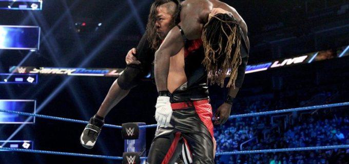 【WWE】US王座に返り咲いたばかりの中邑真輔がRトゥルースとの王座戦でまさかのピンフォール負け