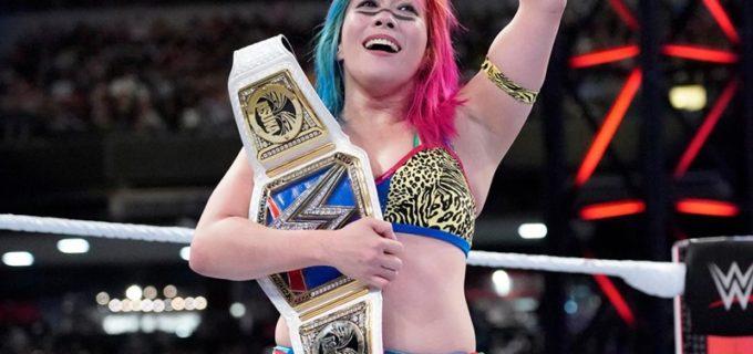 【WWE】アスカ、最強の挑戦者ベッキーにタップ勝ちで王座防衛!