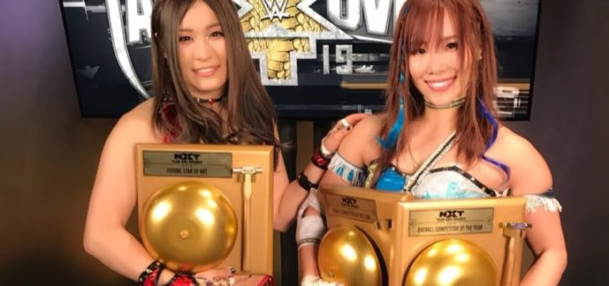 【WWE】NXTイヤーエンド・アワード2018でカイリ・セインが2冠、紫雷イオはNXTフューチャー・スターを受賞