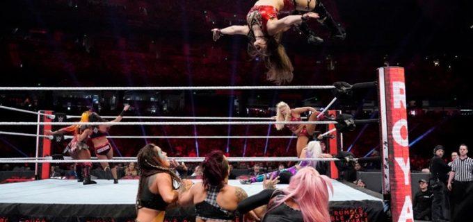 【WWE】カイリ&イオも出場した女子30人ロイヤルランブル戦を緊急出場のベッキーが制す