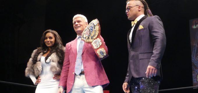 【新日本】ジュース「ブランディ(Cody夫人)俺とCodyが真剣勝負できるようにすっこんでてほしい」Cody「最高のショーを見せることを約束する」