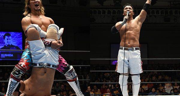 """【新日本】KUSHIDAの""""ラストマッチ""""は棚橋が激勝! 試合後、なんとジェイ乱入!  最後は「行ってきます!」【1.29後楽園結果】"""
