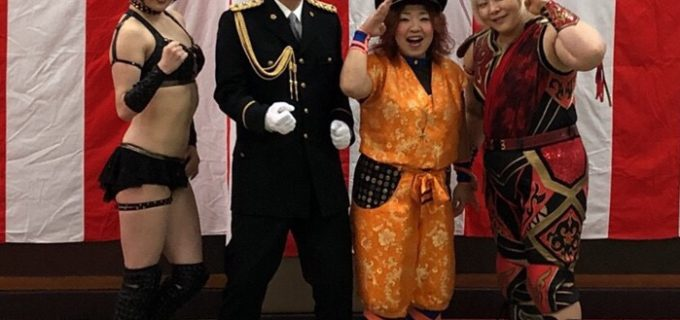 【YMZ】米山香織、倉垣翼、真琴の3選手が田浦警察署の武道始式に参加